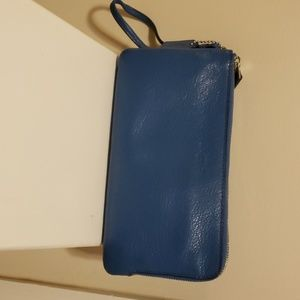 Coach wristlet wallet. Real soft leather